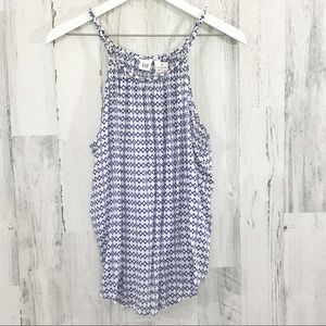 NWT GAP Braided Collar Tank Size Large